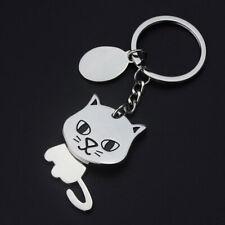Shaking Head Cat Key Ring New Fashion Creative Keychain Pendant Car Cartoon Cute