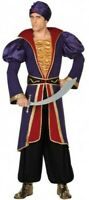 Déguisement Homme Prince ALADIN Violet XL Adulte Guerrier Arabe NEUF