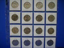 P/&D BU Kennedy Half Dollar Mint Sets. 2006-2007-2008-2009-2010-2011-2012-2013