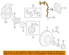 TOYOTA OEM 07-16 Tundra ABS Anti-Lock Brakes Front-Sensor Wire Left 895160C040