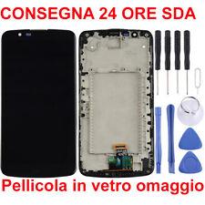 DISPLAY LCD + TOUCH SCREEN ORIGINALE LG K10 4G LTE K430DS K410 K420N NERO VETRO