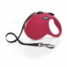 flexi 81107 New Classic Retractable Lead Large Tape 8m, Red XL