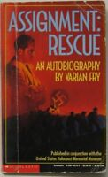 Assignment: Rescue : An Autobiography (Point) by Varian Fry