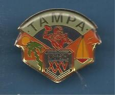 Pin's pin FOOTBALL AMERICAIN SUPERBOWL XXV TAMPA (ref 006)