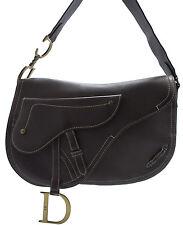Christian Dior Saddle Messenger Bag Shoulder Schultertasche Tasche Zeitlos Braun