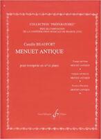 BEAUFORT - Menuet Antique pour Trompette et Piano