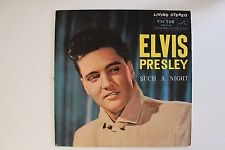 Elvis Presley Japan Only STEREO LP Such a Night RCA Victor SHP-5145 rare