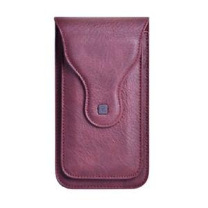 Men's PU Leather Waist Belt Bag Mobile Phone Coin Purse Pouch Bag Fanny Pack