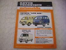 REVUE TECHNIQUE TOYOTA LITE ACE MOTEURS 1290 / 1486 CM3