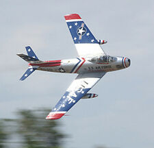 Giant 1/4 Scale F-86 Sabre Duct Fan/ Turbine Plans,Temp
