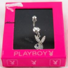 PLAYBOY BUNNY BELLY BAR JEWELLERY VALENTINES GIFT IN PINK BOX BRAND NEW