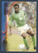 PANINI WORLD CUP 2002- #082-NIGERIA & PARIS SAINT-GERMAIN-AUGUSTINE OKOCHA