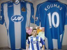 Wigan Athletic Koumas Adulto XL Camiseta Jersey Fútbol Gales Top Umbro JJB