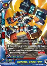 """Buddyfight x 4 Lapeledge, """"Soldier Form"""" [D-BT04/0067EN U] English Mint Future C"""