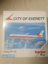 Herpa 1:500 scale -  Boeing House Colors  747-100  City of Everett  -   511711