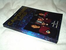 Star Trek Paperback Book Captain's Logs The Complete Trek Voyages