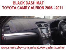 DASH MAT,BLACK DASHMAT,DASHBOARD COVER FIT TOYOTA CAMRY AURION 2007-2009, BLACK