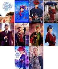 10 Mary Poppins Returns Movie 2018 Mirror Surface Card Sticker Promo Card