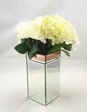 Floreros decorativos cuadrados para el hogar