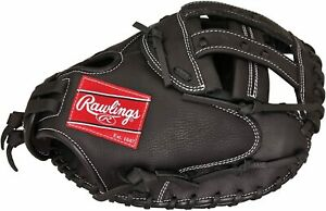 New Other Rawlings Champion Series Fastpitch Catcher's Mitt RHT, 32-Inch Black
