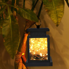 Outdoor Solar Power Lantern Hanging Decor Lamp Led Fairy String Light Waterproof