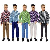 Barbie Ken Clothes Bundle FIVE Outfits Supplied UK SELLER
