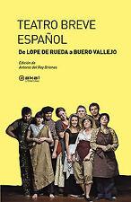 Teatro breve Español. NUEVO. Nacional URGENTE/Internac. económico. TEATRO