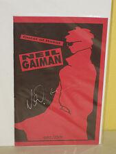 GUEST of HONOR Neil Gaiman - SIGNED by Gaiman - #882/2500 - Ashcan - MOONDOG'S