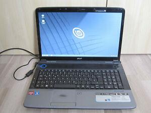 Laptop Acer Aspire 7738G*17,3''*Intel Core 2 Duo 2,2*4GB RAM*250GB SSD*WLANn*