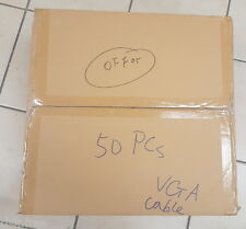Lot of 50 monitor VGA desktop computer male to male cable