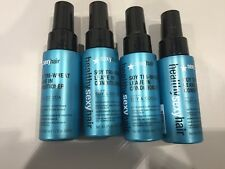 4 X Healthy Sexy Hair Soy Tri-Wheat Leave In Conditioner 1.7 oz Travel Size New