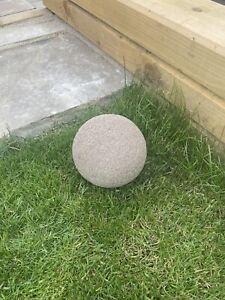 Stone Effect Resin Ball Med 16cm Dia 2.2kg
