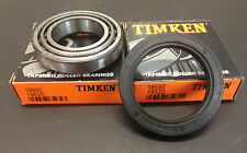 Timken trailer bearing set 2 x 18590/18520 + seal 55 x 75 x 10