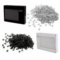 2er Set Puzzle 1000 Teile Schwarz und Weiß Schwer Erwachsene | Erwachsenenpuzzle