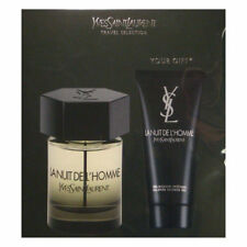 Yves Saint Laurent La Nuit De L'Homme 2 pc Set 3.3oz Spray +3.3oz Shower Gel