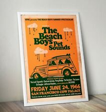 More details for the beach boys poster, beach boys gig poster, wall art, free uk delivery