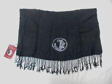 Florida State Seminoles Women's Outline Logo Pasmina Scarf Black One Size NWT