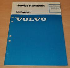 Volvo Generatoren Generatorregler   LKW Lastwagen Truck Werkstatthandbuch