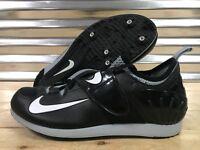 Nike Zoom PV II Pole Vault Track Spikes Black Gray White SZ ( 317404-002 )