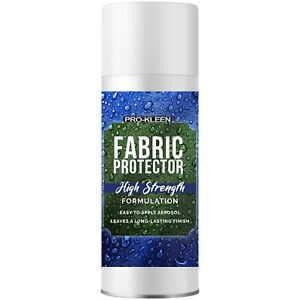 ProKleen Fabric Protector Waterproof Spray On Stain Water Oil Shield Repellent