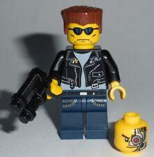 "MOVIE #07A Lego 80's The Terminator ""I'll be back.. NEW Custom Genuine Lego part"