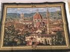 """Florence Cathedral of Santa Maria del Fiore Italian Woven Tapestry 27"""" x  20"""""""