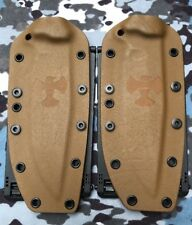 1 Buy Brown Kydex W/ Bladetech Molle Clips For Busse Combat CG Axe Hammer
