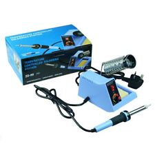 48W Solder Soldering Station Iron Temperature Adjustable UK