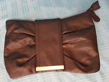 Ladies Dorothy Perkins Small Black Clutch Bag