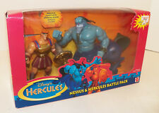 1997 MATTEL Disney's Hercules NESSUS & HERCULES BATTLE BACK #17773 ~ Sealed!!!