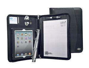WEDO 584911 iPad-Organizer A4 Kunstleder, Nylon schwarz 28 x 37 cm NEU; K76