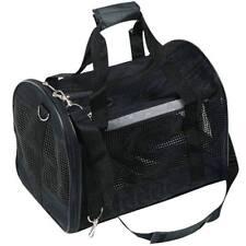 Karlie kleine Hunde Katzen Transporttasche Tragetasche 40x30x26cm schwarz