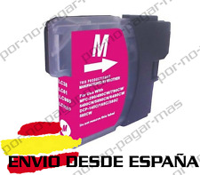 1 CARTUCHO COMPATIBLE MAGENTA NonOem BROTHER LC980 LC1100 DCP-195C DCP195C