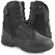 Magnum Strike Force 8 Double Side-Zip DSZ Police Security Boots Black ALL SIZES